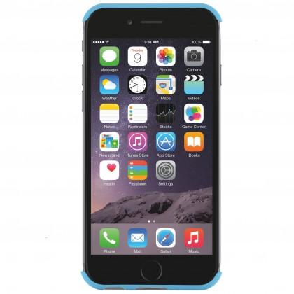 Pro Apple Bigben zadní + přední kryt na iPhone 6/6s Quicksilver, modrá
