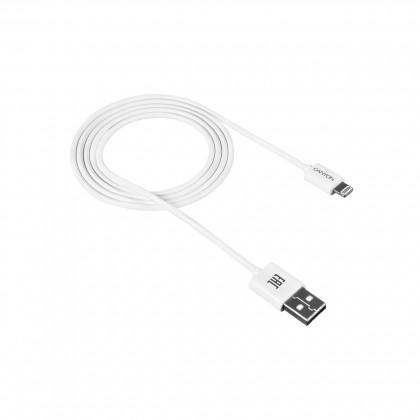 Pro Apple Kabel Canyon Lightning na USB, 1m, bílá