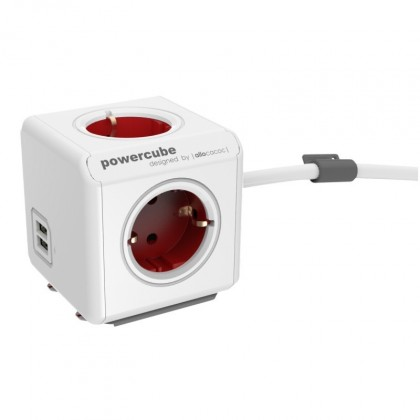 Pro Apple PowerCube Extended USB RED