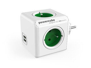 Pro Apple PowerCube Original USB GREEN