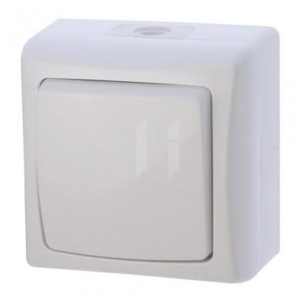 Pro Apple Vypínač ZaRa bílý 4FN58135/S IP44
