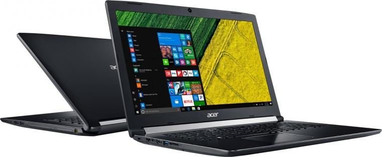 "Pro náročné/Profi Notebook Acer Aspire 5 17"" i3 8GB, SSD 256GB, NX.H9GEC.001 POUŽIT"