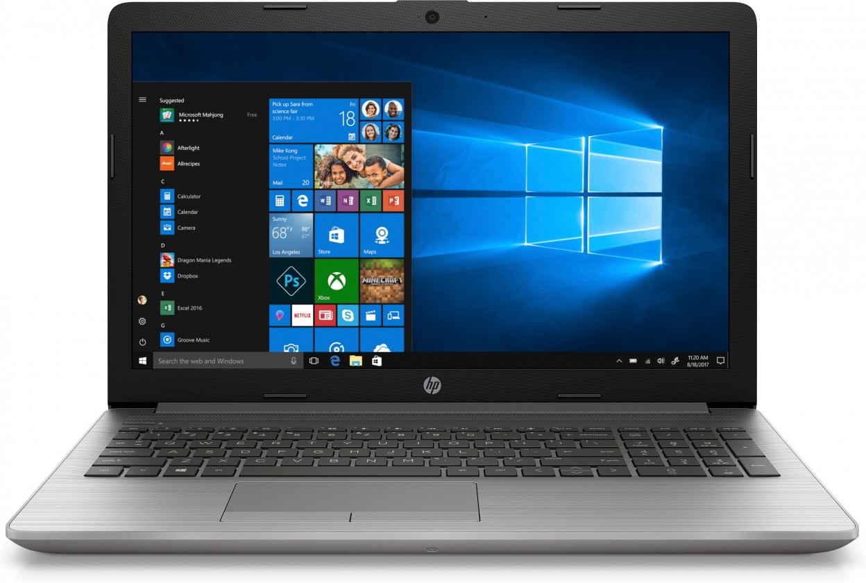 "Pro náročné/Profi Notebook HP 250 G7 15.6"" i5-8265U 8GB, SSD 256GB, 6BP04EA"