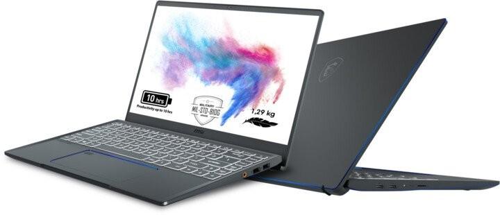 Pro náročné/Profi Notebook MSI Prestige 14 A10RAS-084CZ i7 16GB, SSD 512GB
