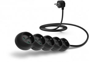 Prodlužovací kabel Connect IT, 5xzásuvka, 2m, černý