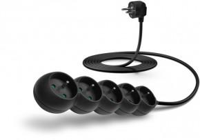 Prodlužovací kabel Connect IT, 5xzásuvka, 3m, černý