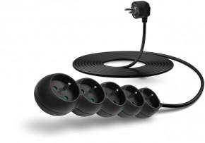 Prodlužovací kabel Connect IT, 5xzásuvka, 5m, černý