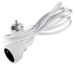 Prodlužovací kabel Emos P0110, 1xzásuvka, 10m, bílý