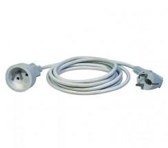 Prodlužovací kabel Emos P0111, 1xzásuvka, 1,5m, bílý