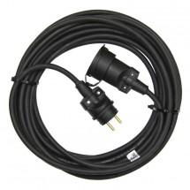 Prodlužovací kabel Emos PM0503, 1xzásuvka, 20m, černý