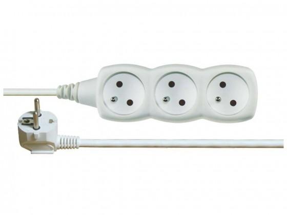 Prodlužovací kabel Emos prodlužovací kabel P0315R 5m 3 zásuvky