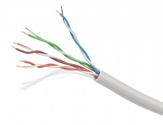Prodlužovací kabel Gembird UPC-5004E-SO-BLUE UTP solid cable, cat. 5e, 305m
