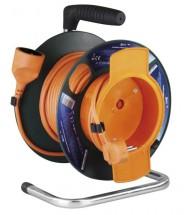Prodlužovací kabel na bubnu, 1 zásuvka, 25m, PVC 1,5mm