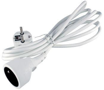 Prodlužovací kabel Prodlužovací kabel Emos BEP0115, 1xzásuvka, 5m, bílý