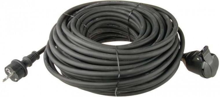 Prodlužovací kabel Prodlužovací kabel Emos P01710, 1xzásuvka, 10m, černý