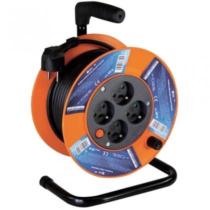Prodlužovací kabel Prodlužovací kabel na bubnu, 4 zásuvky, 15M, PVC 1,5mm