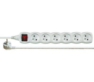 Prodlužovací kabel Prodlužovací přívod 230V 6 zásuvek 5m