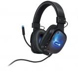 Profesionální gamingová USB sluchátka s odnímatelným mikrofonem