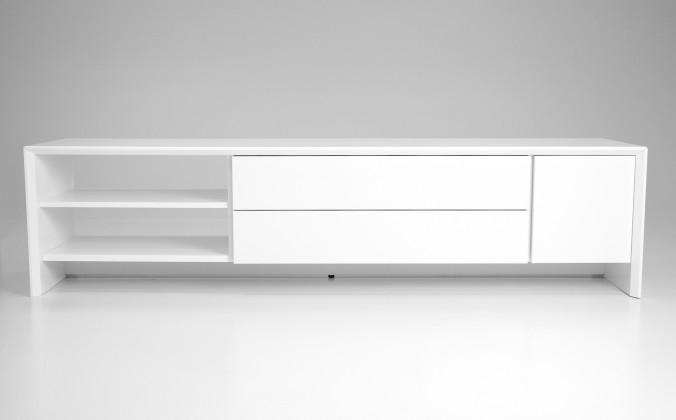 Profil - TV stolek, 5943-001 (bílá)