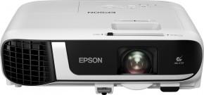 Projektor Epson EB-FH52 + ZDARMA Nástěnné projekční plátno v hodnotě 1499,-Kč