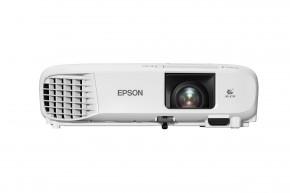 Projektor Epson EB-W49 + ZDARMA Nástěnné projekční plátno v hodnotě 1499,-Kč