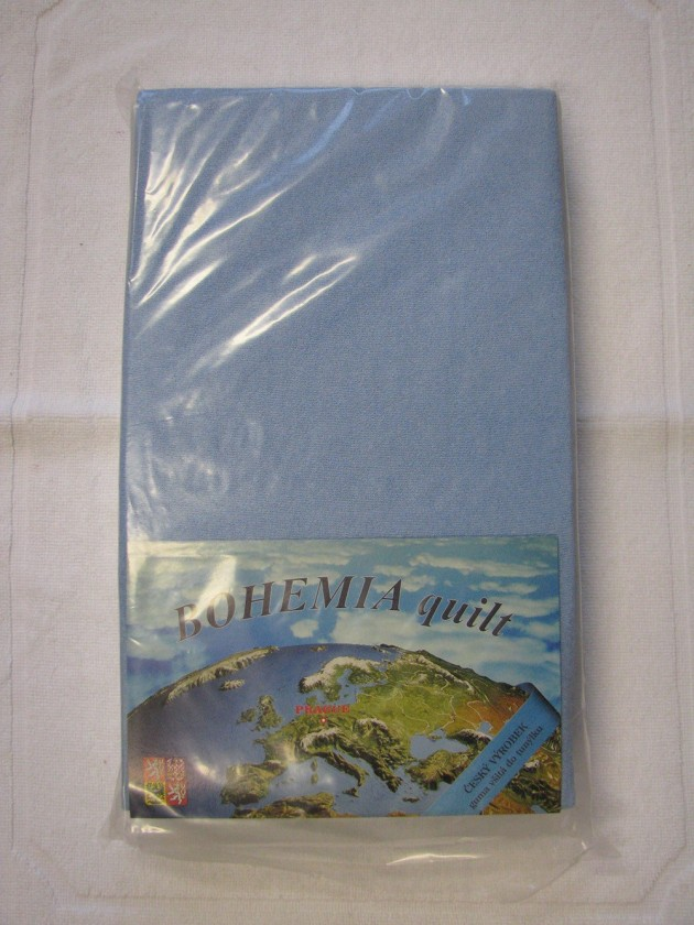 Prostěradlo Jersey 90x200cm, modrá