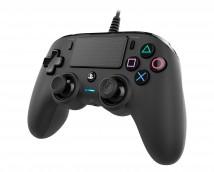 PS4 herní ovladač Nacon Compact Controller - Coloured Black POUŽI