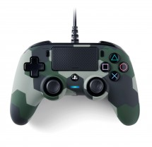 PS4 herní ovladač Nacon Compact Controller - Coloured Camo Green