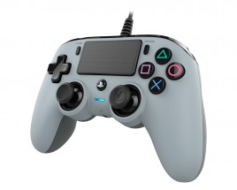 PS4 herní ovladač Nacon Compact Controller - Coloured Grey