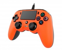PS4 herní ovladač Nacon Compact Controller - Coloured Orange