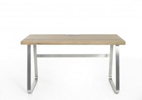 Psací stůl Alegro (dub, stříbrná)