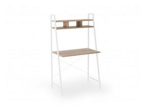 Psací stůl Jerico (84x142x46 cm, dub sonoma, bílá)