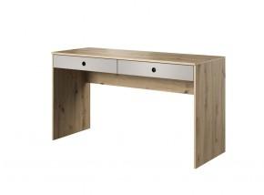 Psací stůl Kenny (dub, šedá)