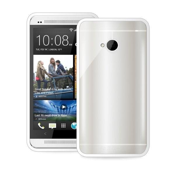 Puro kryt Clear pro HTC One, bílá