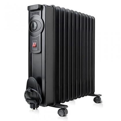 Radiátor Olejový radiátor Black+Decker BXRA2300E, 11 žeber
