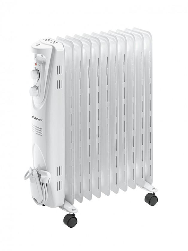 Radiátor Olejový radiátor Concept RO 3211, 11 žeber