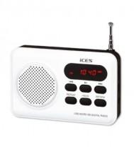Rádio ICES IMPR-112, bílé