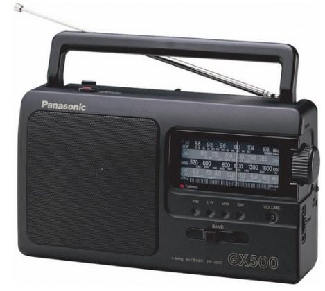 Rádio Panasonic RF-3500E9-K, černé