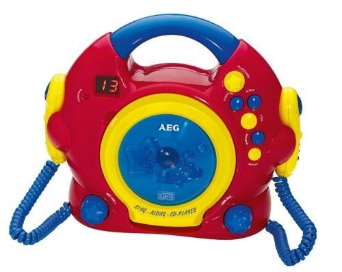Rádio s CD AEG CDK 4229, červená