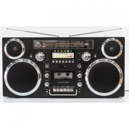Rádio s CD GPO BROOKLYN Black CD CD-R CD-RW USB AM DAB+ FM