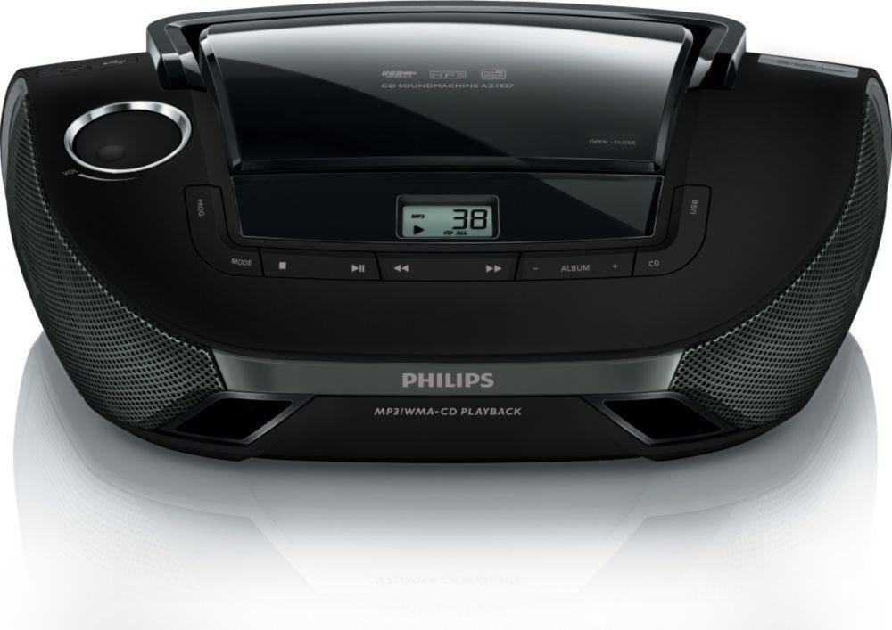 Rádio s CD Philips AZ1837/12 ROZBALENO
