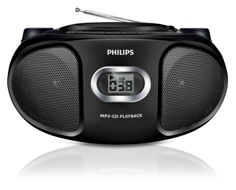 Rádio s CD Philips AZ305/12 ROZBALENO