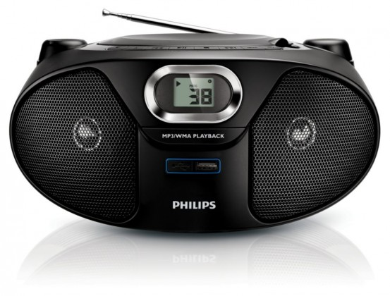 Rádio s CD Philips AZ385 ROZBALENO