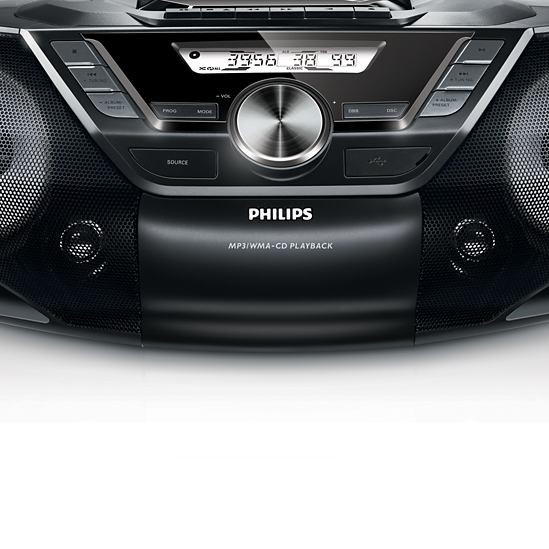 Rádio s CD Philips AZ787