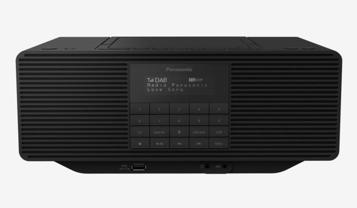 Rádio s CD Rádio Panasonic RX-D470BTEG-K