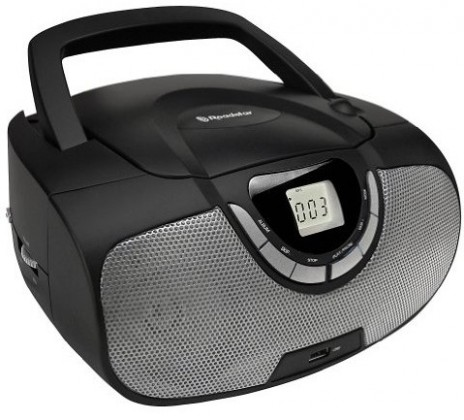 Rádio s CD Roadstar CDR-4550U/BK ROZBALENO