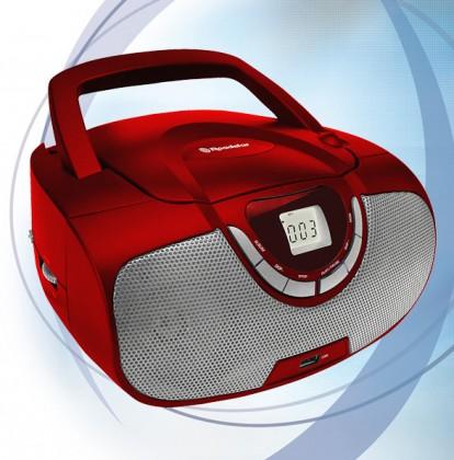 Rádio s CD Roadstar CDR-4550U/RD Přenosný přehrávač
