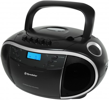 Rádio s CD Roadstar RCR 3750UMP BK