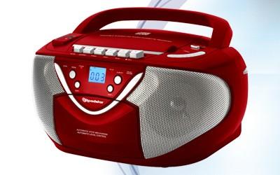 Rádio s CD Roadstar RCR-4650USMPR (Red)