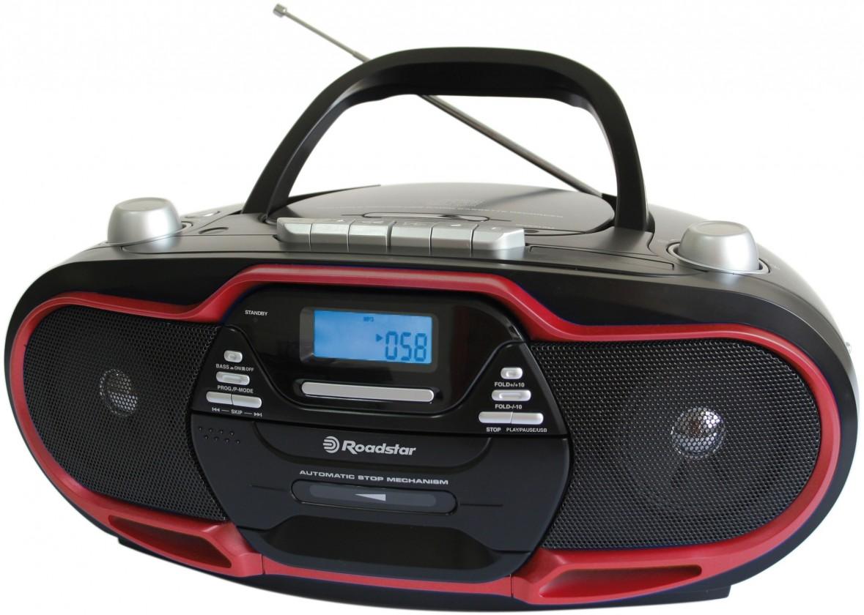 Rádio s CD Roadstar RCR-4730U/RD POUŽITÉ, NEOPOTŘEBENÉ ZBOŽÍ